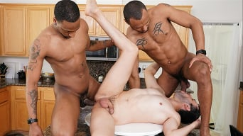 Jesse Ferrer in 'Jesse Ferrer, Jigz Castelo and Titus Mcmasters - Blacks On Boys'