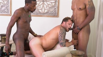 Riley Mitchel in 'Riley Mitchel, Deepdicc and Lawrence West - Blacks On Boys'