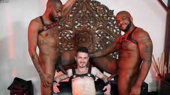 Robbie Caruso in 'Robbie Caruso, August Alexander and Micah Martinez - Blacks On Boys'